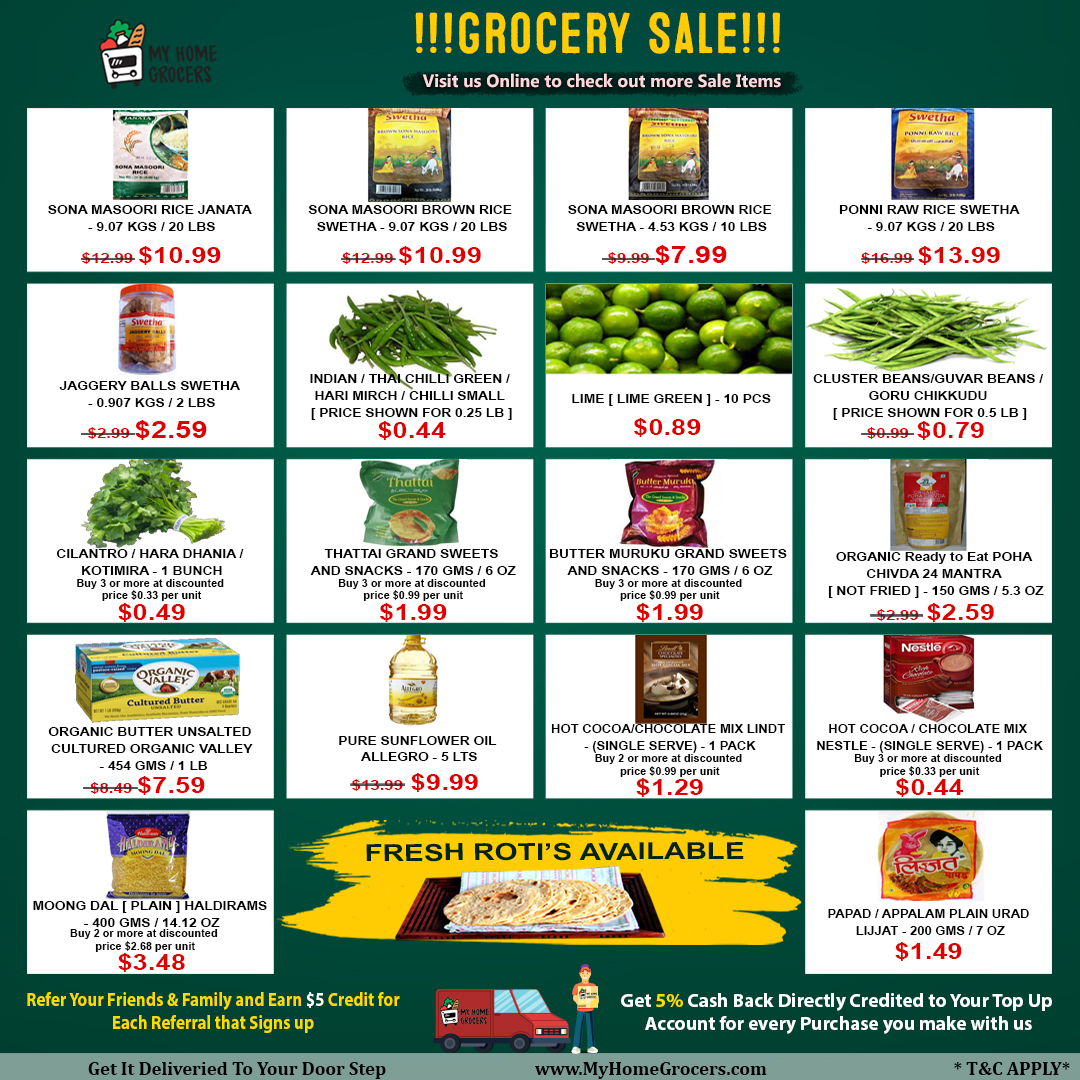 Grocery Sale Online Little Elm,Texas - MyHomeGroce